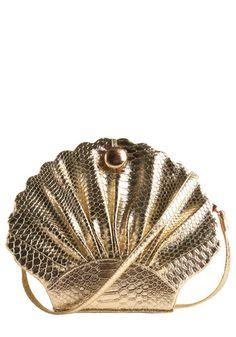 like a gilded seashell