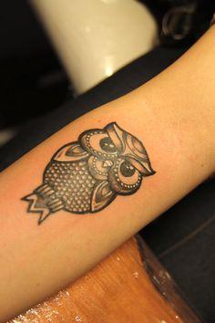 owl tattoo...