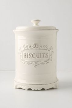Biscuit Canister/cookie jar