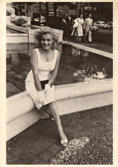"Marilyn Monroe - ""Marilyn Outside the Plaza Hotel, NYC, 1958"" by Sam Shaw"