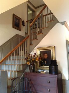 Love the winder staircase