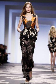 Vera Wang Fall 2013: Evening wear