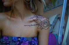 tattoo ideas, tattoo placements, sleev, rose tattoos, a tattoo, flower tattoos, shoulder tattoos, quot, white ink