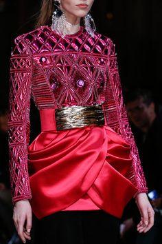 Balmain Fall 2013 Detail #jacket #balmain #womensfashion #style #fashion #look #blazer #details #luxury #luxe #highend #trend #dress #details