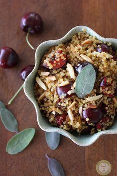 Cherry Sage Toasted Quinoa