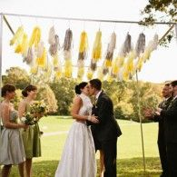 googl search, galleries, weddings, tassel chuppah, tassels