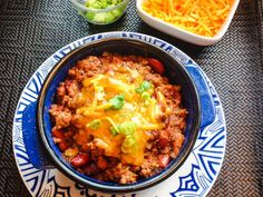 Chili Con Carne- Stovetop & Slow Cooker Instructions | whatscookingamerica.net  #chili #slowcooker #dutchoven #stew