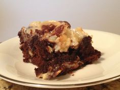 Slow Cooker Five Layer Brownie - A MUST MAKE!  www.GetCrocked.com