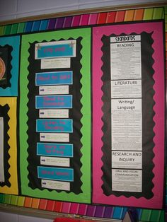 Love the bulletin board design :)