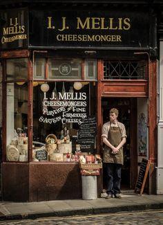 I.J. Mellis Cheesemonger ~ Edinburgh, Scotland