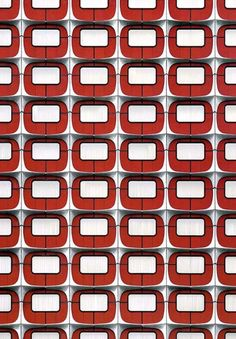 #pattern #repetition #red
