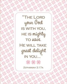 amen. HE takes delight in ME. Breathlesss.