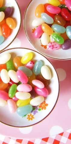 jelly beans....