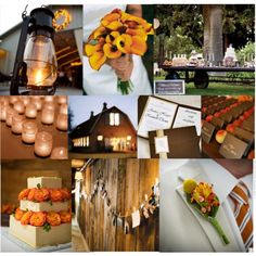 Autumn wedding...