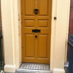 Mustard door color