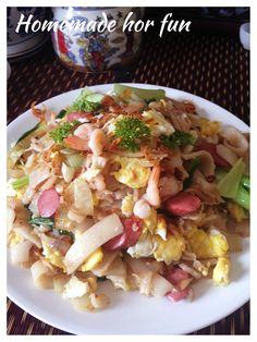 Homemade Chinese Rice Noodles–Hor Fun or He Fen or Guo Tiao (自制沙河粉,河粉或粿条)   #guaishushu #kenneth_goh  #homemade_hor_fun    #河粉   #沙河粉  #自制河粉