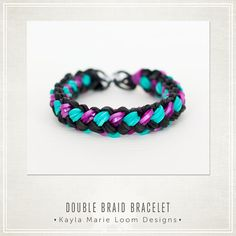 Rainbow Loom Double Braid Bracelet Party Favors