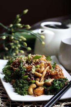 Olives for Dinner: Sweet and Sour Crispy Mock Chicken Stir Fry