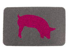 Kikkerland Design » Products » Doormat Piggy