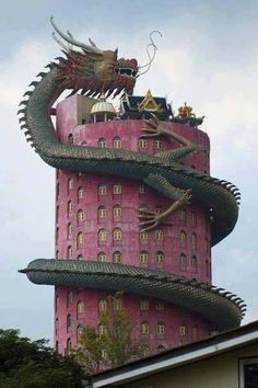 """Thailand. The mysterious Wat Samphran temple - 16 Amazing """"Must See"""" Destinations"""