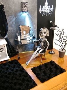 Monster High Bedroom Set - Frankie Stein