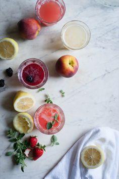 4 Summer Fruit Lemonade Recipes
