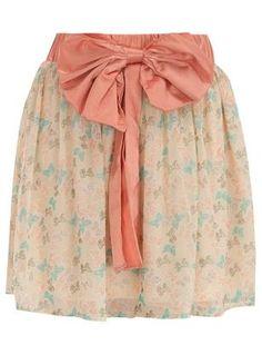 fantasi shopper, style inspir, skirts, butterflies, print skirt, fashion styles, butterfli print, shopper style, prints