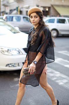 Streetstyle Milan #fashion