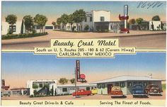 Beauty Crest Motel, Carlsbad, NM ca 1930s