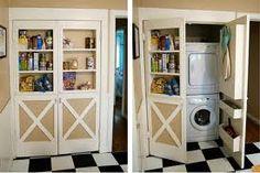 Pantry closet/HVAC closet ideas