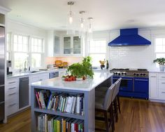 Like the bookshelf in the kitchen