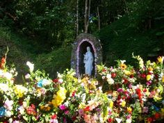 """Alternate view of Santuario Virgen de Betania - Estado Miranda - Venezuela:  Where Maria Esperanza de Bianchini reportedly first saw an apparition of Mary in 1976, but she became a world-renowned figure after Mary reportedly appeared to her and 150 others at a farm named """"Finca Betania"""" in Venezuela on March 25, 1984. Mary is said to have appeared under the title """"Mary, virgin and mother, reconciler of all people and nations."""""""