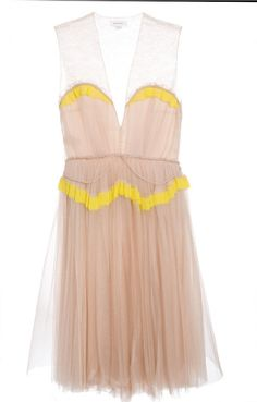 delpozo tulle dress
