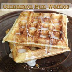 Cinnamon bun swirl..add to waffles or pancakes