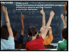Instructional Gerund PowerPoint with Student Notes Page from MasteringMiddleSchool on TeachersNotebook.com -  (38 pages)  - Gerunds and Their Functions Instructional PowerPoint with Student Note Pages -  CCSS ELA L.8.1.A Help students learn about verbals!