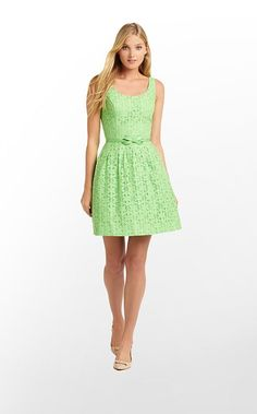 Posey Dress beautiful spring green