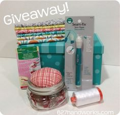 quilting giveaway including Clover Wonder Clips from Julie Hirt