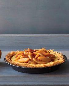 Apple Custard Pie - Martha Stewart