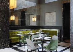 paris: monsieur bleu restaurant opening. Joseph Dirand of course....