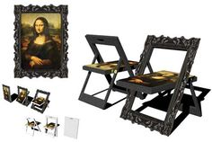 mona lisa chair - takes space saving to a new level
