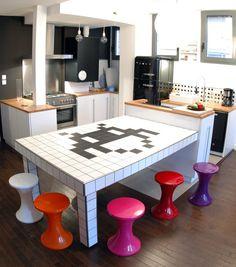 kitchens, mesas, lofts, fiesta, space invaders