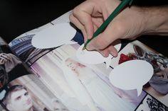 DIY Comic Book Wedding Guestbook