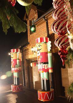 traditional christmas, outdoor christmas decorations, christma decor, christma nutcrack
