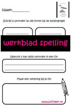 Juf Inger: spelling groep 3-4