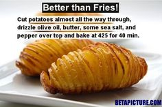 An Awesome Recipe That You Must TRY! Baked Potato Slices, Better Than Fries!