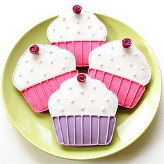Spring Cupcake Cookies, via Flickr.