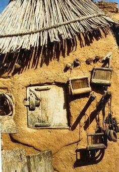 Dogon mud house