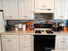 Out with the old… Painting the Backsplash!   Sawdust and Embryos ????