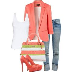 jean, jacket, fashion, blazer, color, summer outfits, casual fridays, summer clothes, spring outfits