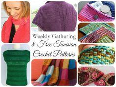 Weekly Gathering: 8 Free Tunisian Crochet Patterns! | The Handmade Handmaiden